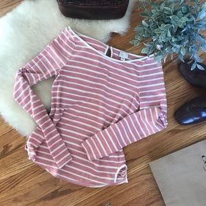 Anthropologie Boat Neck Top